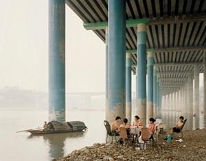 Chongqing IV (Sunday Picnic), Chongqing Municipality by Nadav Kander contemporary artwork