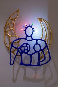 Ange Gardien by Niki de Saint Phalle contemporary artwork sculpture