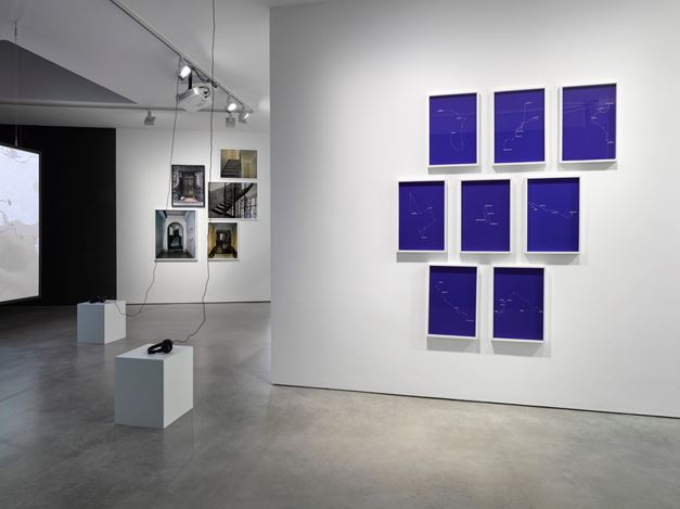 Exhibition view: Bouchra Khalili, Lisson Gallery, London (27 January – 18 March 2017). Courtesy Lisson Gallery, London.