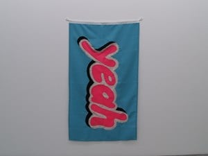 Yeah by Jon Campbell contemporary artwork