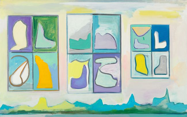 Vorst (RD-S035) by René Daniëls contemporary artwork