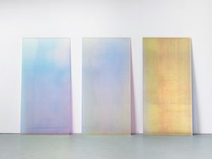 CL2 Blue Shadow, CL9 Pink Shadow, Sunset B by Ann Veronica Janssens contemporary artwork