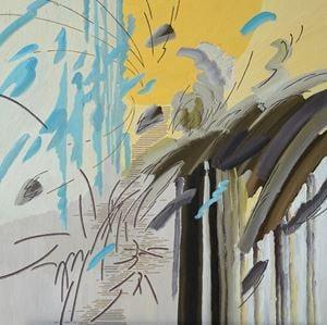 작전 by Woo Tae Kyung contemporary artwork painting, works on paper