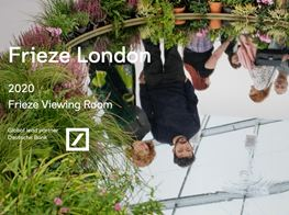 Frieze London Online 2020