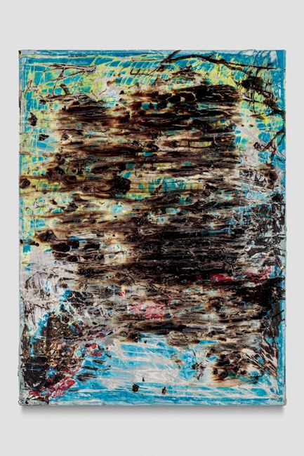 Painting 6 by Mark Bradford contemporary artwork