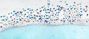 Spiagge Bianche 2 by Antoine Rose contemporary artwork