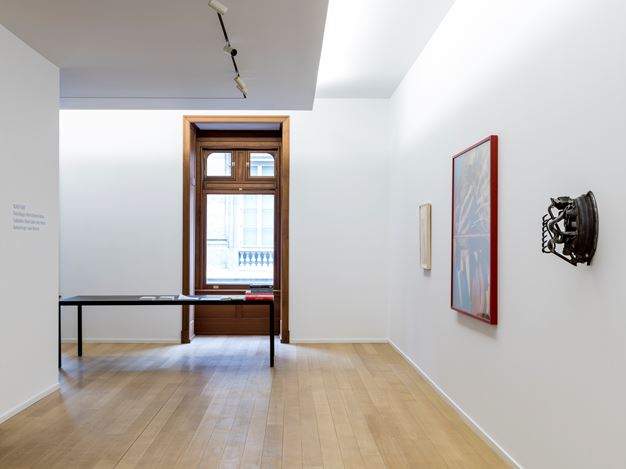 Exhibition view: Black Feast, Simon Lee Gallery, New York (17 March–22 April 2017). Courtesy Simon Lee Gallery.