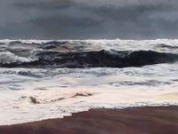 Storm, Light, Ocean by April Gornik contemporary artwork painting