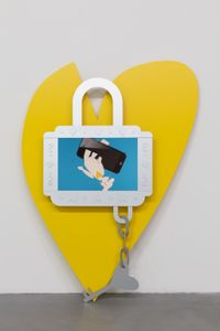 Who Loves Who? by Simon Fujiwara contemporary artwork sculpture, moving image
