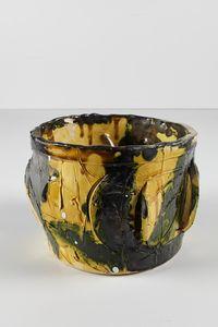 Untitled Small Planter 2 by Rashid Johnson contemporary artwork ceramics