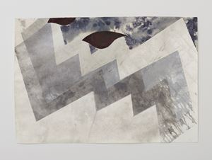 Zig Zag Drawing #4 by Alison Wilding contemporary artwork