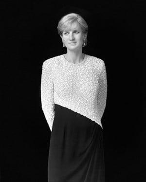 Diana, Princess of Wales by Hiroshi Sugimoto contemporary artwork photography