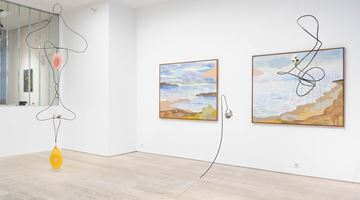 Contemporary art exhibition, Carin Ellberg, Stones Have Long Threads at Andréhn-Schiptjenko, Stockholm