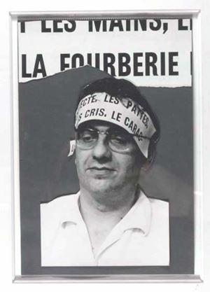 Marcel von Maele, le Poète by Marcel Broodthaers contemporary artwork
