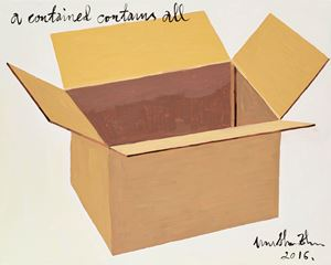 A Contained Contains All (被容者容一切) by Wu Shanzhuan contemporary artwork