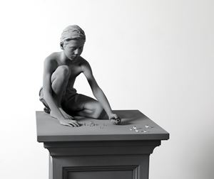 Timo (marbles) (small version) by Hans Op de Beeck contemporary artwork