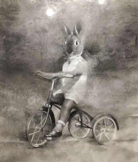 Midnight Rider by Anton Pulvirenti contemporary artwork