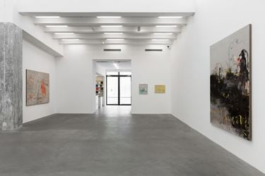 Exhibition view: Rebekka Steiger, 猫头鹰 – virages nocturnes, Galerie Urs Meile, Beijing (28 August–21 October 2018). Courtesy the artist and Galerie Urs Meile, Beijing-Lucerne.