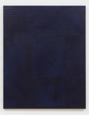 Allover Compose Blue by Sergej Jensen contemporary artwork
