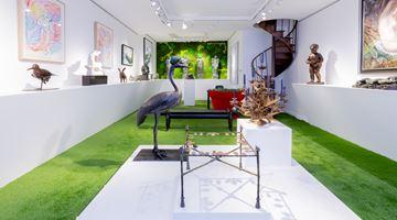 Contemporary art exhibition, Group Exhibition, Jardin d'Eden at Galerie Dumonteil, Paris