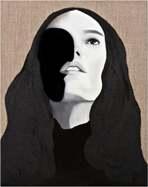 Lady by Veronica Kent contemporary artwork