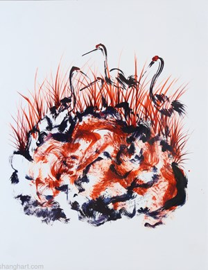 Wonderland by Sun Xun contemporary artwork