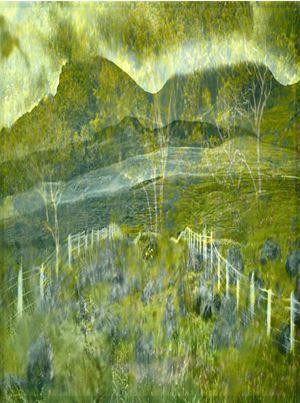 Double Exposure Through Windshield, Isle of Skye, Scotland by Albert Watson contemporary artwork