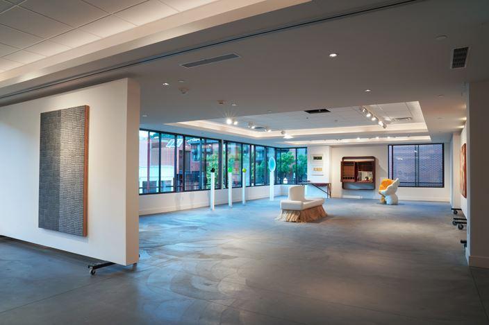 Exhibition view: Group Exhibition, Haptic Narrative, 535 East Hyman Ave, Aspen (8 August–15 September 2020). Courtesy Lehmann Maupin New York, Hong Kong, Seoul.Photo: Danielle Calodneyand Max Bode.