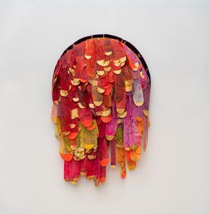 Cabeluda by Leda Catunda contemporary artwork