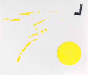 Untitled (Yellow) by Jiieh G Hur contemporary artwork