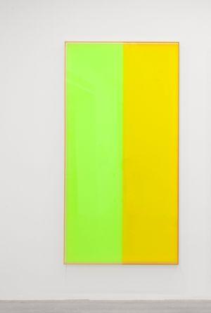 Colormirror yellow green Bonn by Regine Schumann contemporary artwork