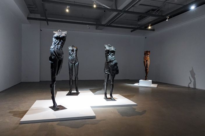 Exhibition view: Lin Liang Tsai, In Search of the Absolute, Double Square Gallery, Taipei (31 October–12 December 2020). Courtesy Double Square Gallery.
