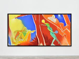 Island (diptych) by Allen Jones contemporary artwork
