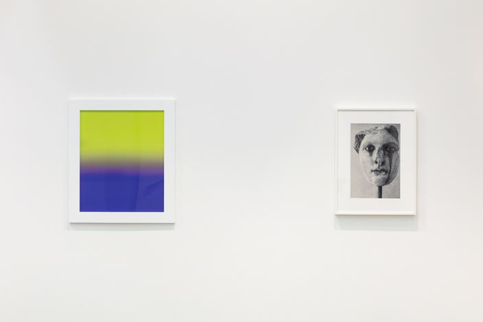 Exhibition view: James Welling, Planograph, Maureen Paley, London (23 November 2019–12 January 2020). © James Welling. Courtesy Maureen Paley, London.