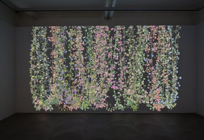 Garlands 1 by Jennifer Steinkamp contemporary artwork