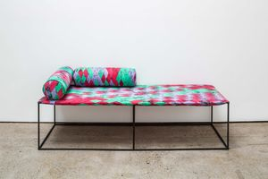 Daybed 01 (BMS) by Eva Rothschild contemporary artwork