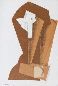Tête de femme by Henri Laurens contemporary artwork painting, works on paper, drawing