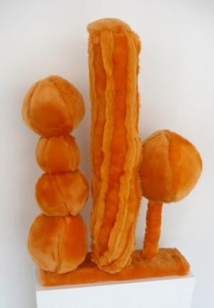 Small Orange Landscape by Kathy Temin contemporary artwork