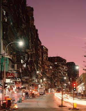 'Dusk View', City of Darkness, Hong Kong by Ian Lambot contemporary artwork