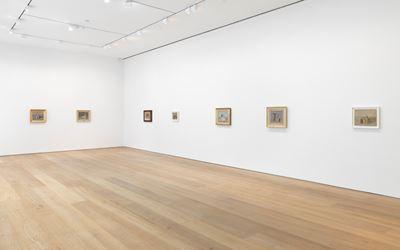 Exhibition view: Giorgio Morandi, David Zwirner, New York (6 November–19 December 2015). Courtesy David Zwirner.