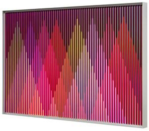 Physichromie 1982 by Carlos Cruz-Diez contemporary artwork