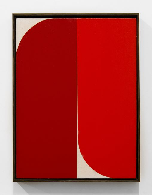 Red #4 by Johnny Abrahams contemporary artwork