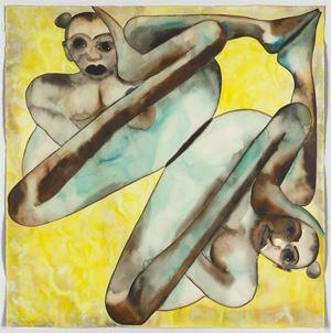 Symmetry by Francesco Clemente contemporary artwork