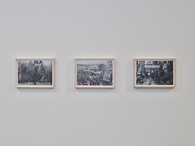 Exhibition view: Richard Forster, Notes on Architecture, Timothy Taylor, London (25 October–20 December 2019). Courtesy Timothy Taylor.