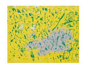二白蝶 Two White Butterflies by Yeh Shih-Chiang contemporary artwork