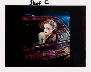 Night Car - study IV by Miles Aldridge contemporary artwork