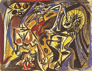 Bestiaire by André Masson contemporary artwork