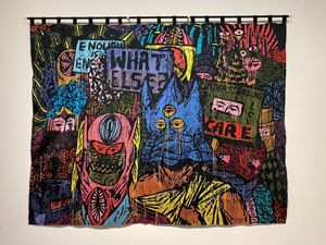 They Said It's a New World, but It's Not by Eko Nugroho contemporary artwork