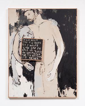 I'm Sad About The T.V by Brett Charles Seiler contemporary artwork