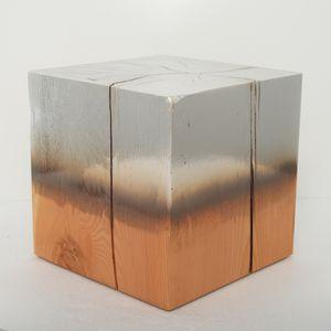 January 19 2021 Matsu Pine Silver by Miya Ando contemporary artwork sculpture